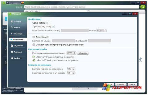 Screenshot MediaGet untuk Windows XP