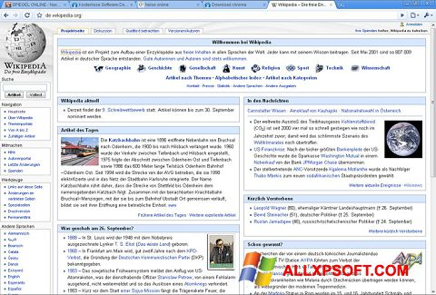 Screenshot SRWare Iron untuk Windows XP