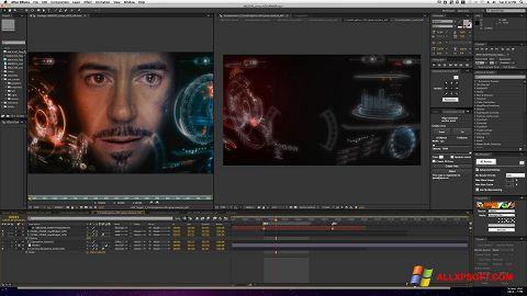 Screenshot Adobe After Effects untuk Windows XP