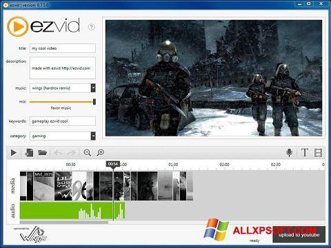 Screenshot Ezvid untuk Windows XP