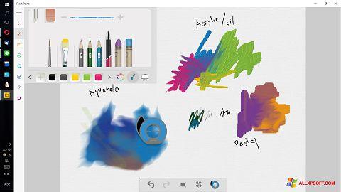Screenshot Fresh Paint untuk Windows XP