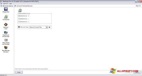Screenshot BadCopy Pro untuk Windows XP