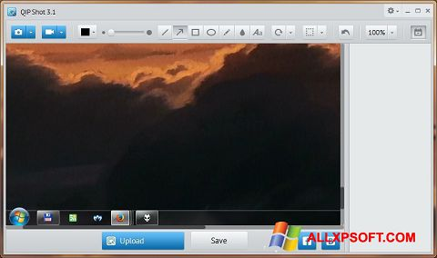 Screenshot QIP Shot untuk Windows XP