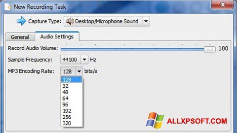 Screenshot SMRecorder untuk Windows XP