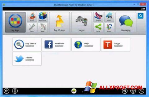 Screenshot Tango untuk Windows XP