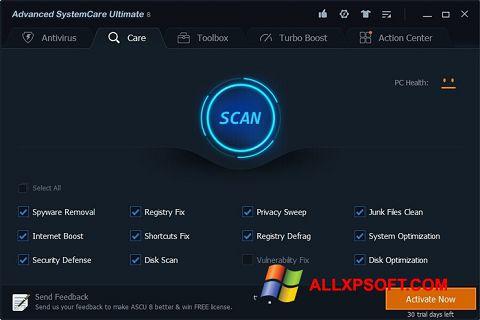 Screenshot Advanced SystemCare Ultimate untuk Windows XP