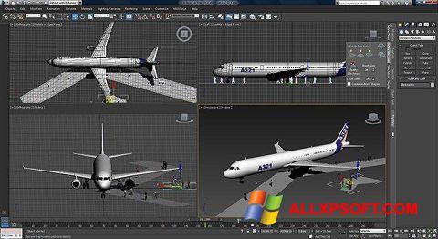 Screenshot 3ds Max untuk Windows XP