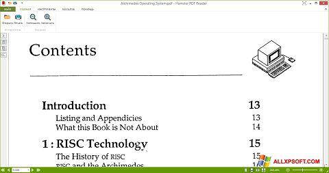 Screenshot Hamster PDF Reader untuk Windows XP