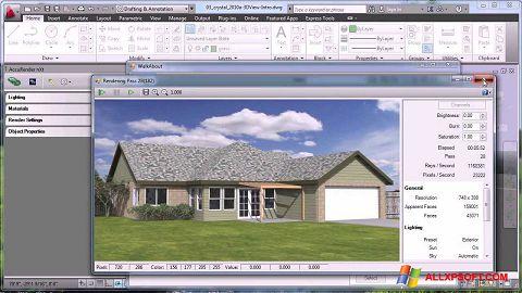 Screenshot AutoCAD untuk Windows XP