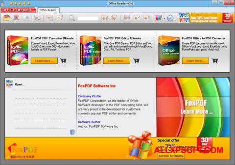 Screenshot Doc Reader untuk Windows XP