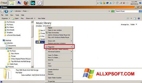 Screenshot MagicISO untuk Windows XP