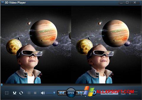 Screenshot 3D Video Player untuk Windows XP