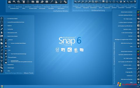 Screenshot Ashampoo Snap untuk Windows XP