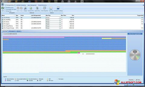 Screenshot PerfectDisk untuk Windows XP