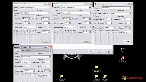 Screenshot Virtual Audio Cable untuk Windows XP