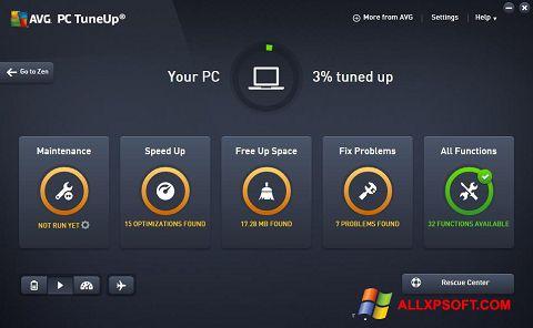 Screenshot AVG PC Tuneup untuk Windows XP