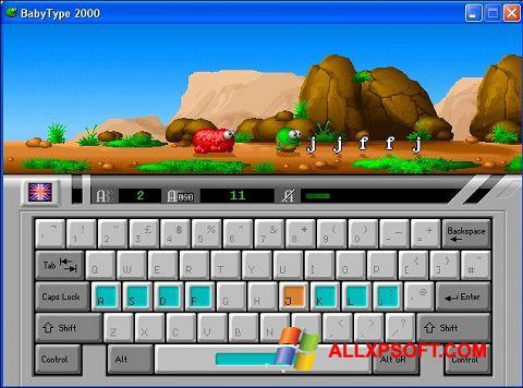 Screenshot BabyType untuk Windows XP