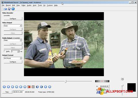 Screenshot Avidemux untuk Windows XP
