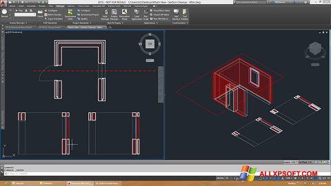 Screenshot AutoCAD Architecture untuk Windows XP
