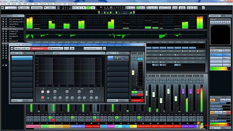 Screenshot Cubase untuk Windows XP