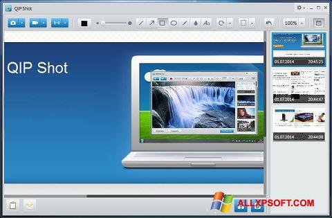 Screenshot QIP untuk Windows XP