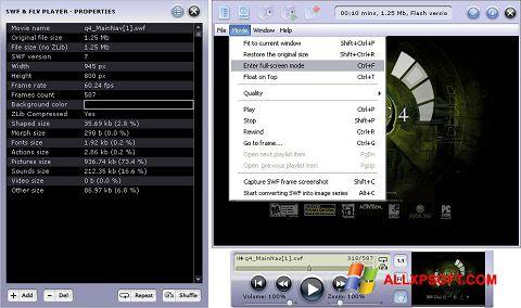 Screenshot FLV Player untuk Windows XP