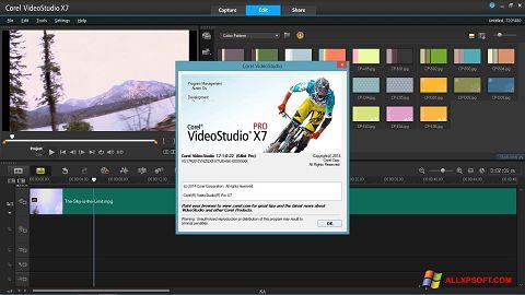 Screenshot Corel VideoStudio untuk Windows XP