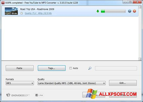 Screenshot Free YouTube to MP3 Converter untuk Windows XP