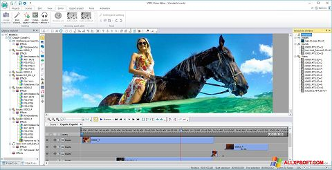 Screenshot Free Video Editor untuk Windows XP