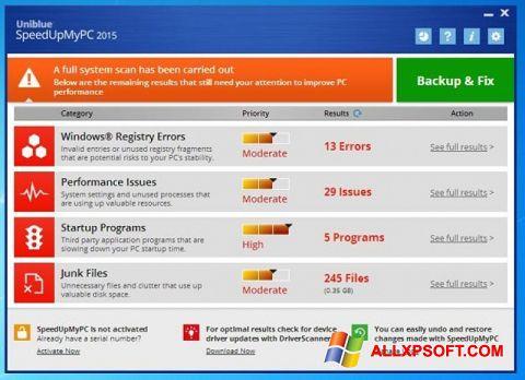 Screenshot SpeedUpMyPC untuk Windows XP