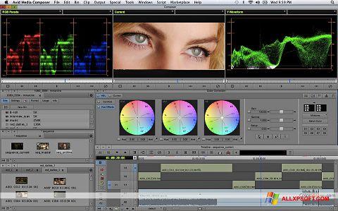 Screenshot Avid Media Composer untuk Windows XP