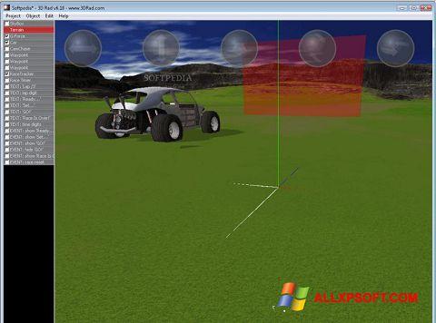 Screenshot 3D Rad untuk Windows XP