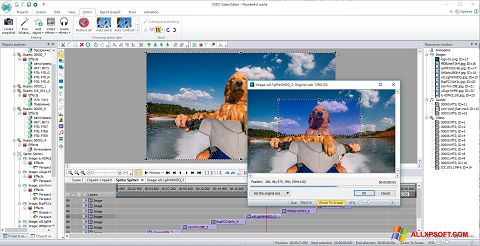 Screenshot VSDC Free Video Editor untuk Windows XP