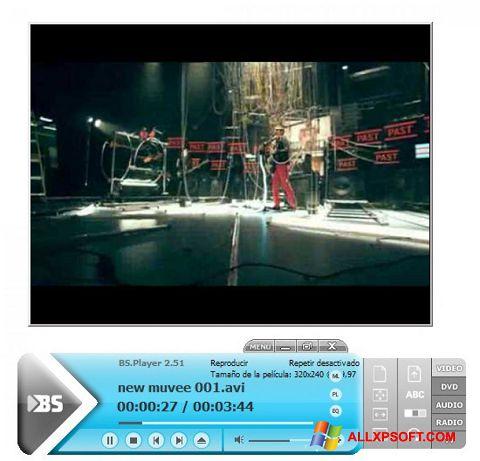 Screenshot BSPlayer untuk Windows XP