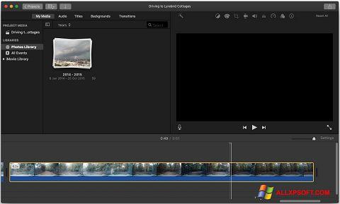 Screenshot iMovie untuk Windows XP
