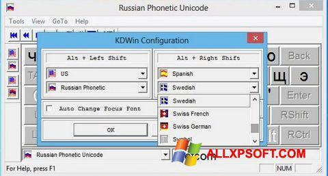 Screenshot KDWin untuk Windows XP
