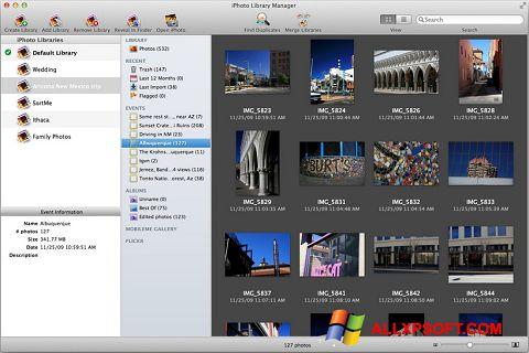 Screenshot iPhoto untuk Windows XP