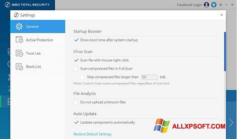 Screenshot 360 Total Security untuk Windows XP