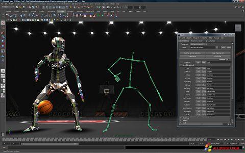 Screenshot Autodesk Maya untuk Windows XP