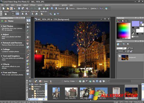 Screenshot PaintShop Pro untuk Windows XP