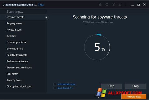 Screenshot Advanced SystemCare Pro untuk Windows XP