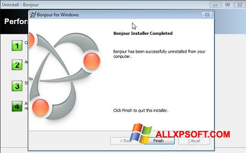 Screenshot Bonjour untuk Windows XP