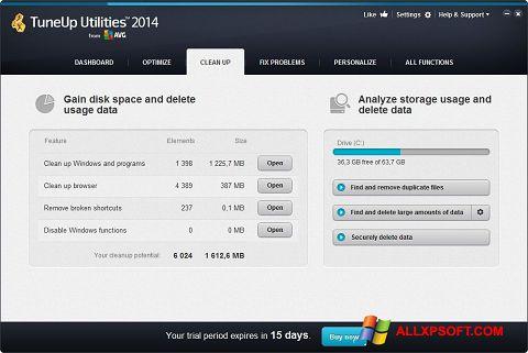 Screenshot TuneUp Utilities untuk Windows XP