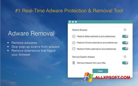 Screenshot Adware Removal Tool untuk Windows XP