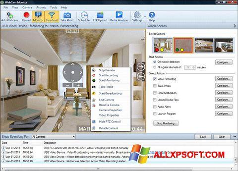 Screenshot WebCam Monitor untuk Windows XP