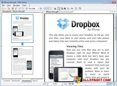Screenshot STDU Viewer untuk Windows XP