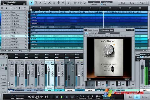 Screenshot Studio One untuk Windows XP
