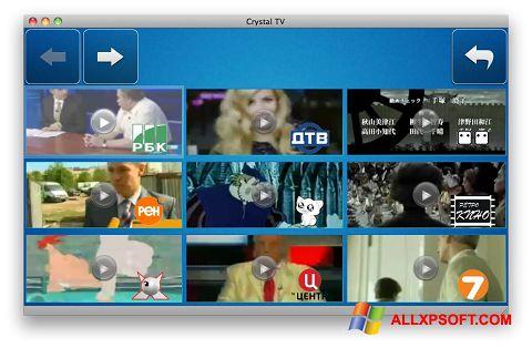 Screenshot Crystal TV untuk Windows XP