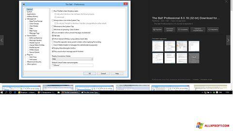 Screenshot The Bat! untuk Windows XP