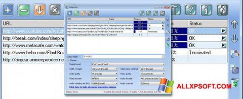 Screenshot VideoGet untuk Windows XP